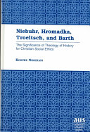 Download Niebuhr  Hromadka  Troeltsch  and Barth Book