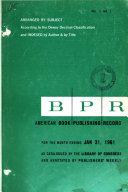 American Book Publishing Record Book PDF