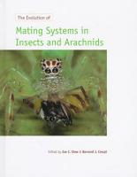 The Evolution of Mating Systems in Insects and Arachnids PDF