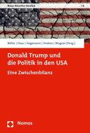 Donald Trump Und Die Politik in Den USA PDF