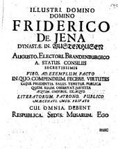 Disputatio inauguralis De jure protocolli, quam ex decreto et autoritate magnifici ... præside ... dn. Samuele Strykio, J.U.D. ... Pro licentia summos ... ad diem 4. julii. anno 1672. ... publicæ disquisitioni subjicit Sebastian Henrich Trescho, ...