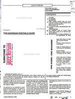 Jazz Forum PDF