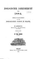 Zoologischer Jahresbericht PDF