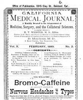 California Medical Journal: Volume 10