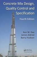 Concrete Mix Design  Quality Control and Specification  Fourth Edition PDF