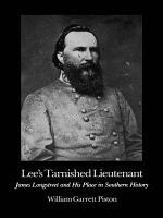 Lee s Tarnished Lieutenant PDF