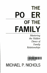 The Power of the Family  Mastering the Hidden Dance of Family Relationships