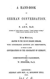 A hand-book of German conversation