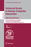 Universal Access in Human-Computer Interaction. Addressing Diversity