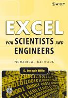 Excel for Scientists and Engineers PDF
