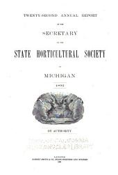 Report of the Michigan State Pomological Society: Volume 22