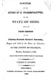 Journal of the House of Representatives of the State of Ohio: Volume 27