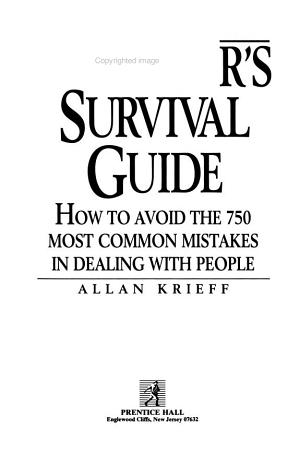 Manager s Survival Guide