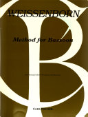 Method for bassoon PDF