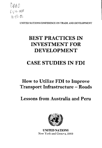 Best Practices in Investment for Development PDF