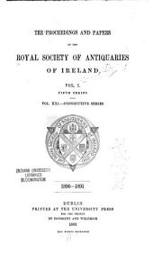 The Proceedings and Papers of the Royal Society of Antiquaries of Ireland