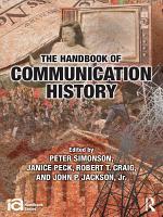 The Handbook of Communication History PDF