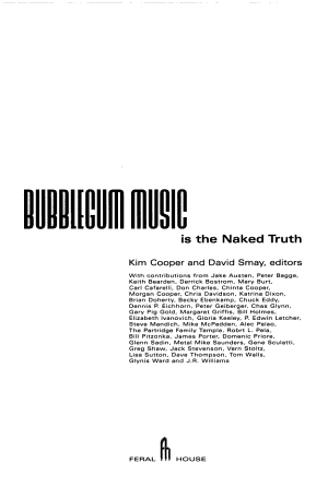 Bubblegum Music is the Naked Truth