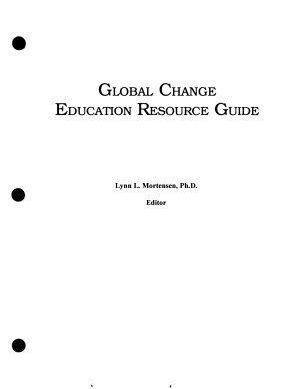 Global Change Education Resource Guide PDF
