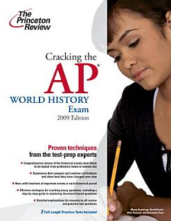 Cracking the AP World History Exam Book