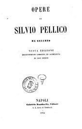 Opere di Silvio Pellico da Saluzzo