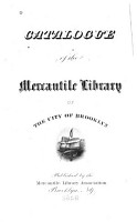 Catalogue of the Mercantile Library of the City of Brooklyn PDF