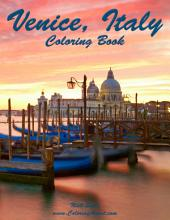 Venice, Italy Coloring Book