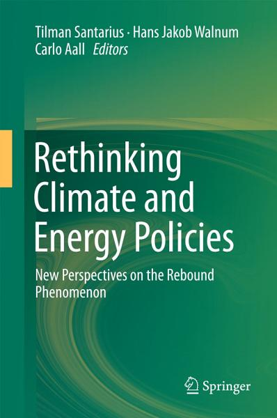 Download Rethinking Climate and Energy Policies Book