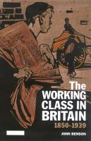 The Working Class in Britain PDF