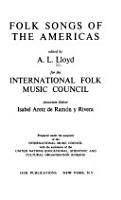 Folk Songs of the Americas PDF