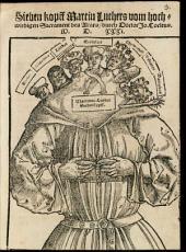 Sieben Kopf Martin Luthers vom hochwürdigen Sakrament des Altars