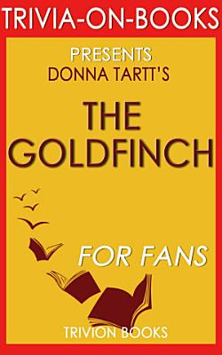 The Goldfinch by Donna Tartt PDF