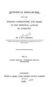 Asiatic nations: Scythians, Indians. Appendixes