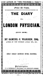 The Diary of a London Physician