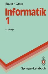 Informatik 1: Eine einführende Übersicht, Ausgabe 4