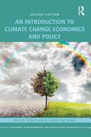 An Introduction to Climate Change Economics and Policy PDF