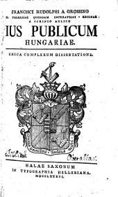Ius publicum Hungariae