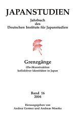 Japanstudien. Band 16/2004