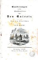 Wanderungen in der Fuszstapfen des Don Quixote