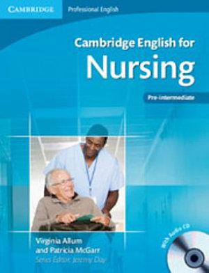 Cambridge English for Nursing Pre intermediate Student s Book with Audio CD PDF