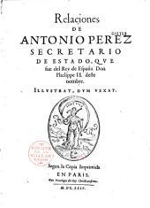 Relaciones de Antonio Perez...