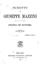Scritti: politica ed economia