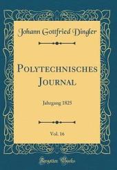 Polytechnisches Journal: Band 54