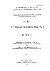 The History of Higher Education in Ohio