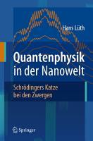 Quantenphysik in der Nanowelt PDF