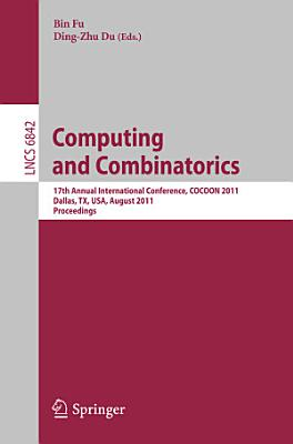 Computing and Combinatorics PDF