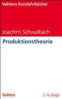 Produktionstheorie PDF