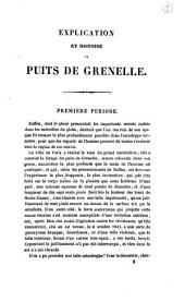 Explication et histoire du puits de Grenelle