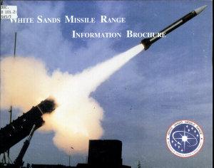 White Sands Missile Range Information Brochure Book