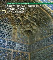 Medieval Persia 1040 1797 PDF
